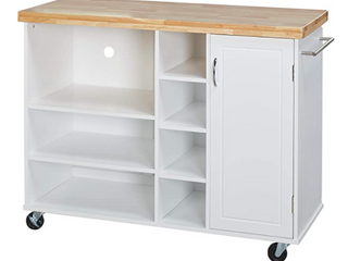 Galvin Microwave Cart   White