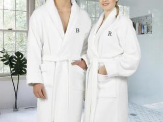 Authentic Hotel Spa Unisex Turkish Cotton  White   M