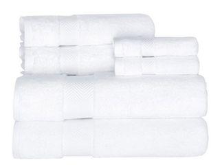 MAKROTEKS TEXTIlE llC Towels Beyond Becci Collection Ultra Soft and Thick Turkish Cotton 6 Piece Towel Set