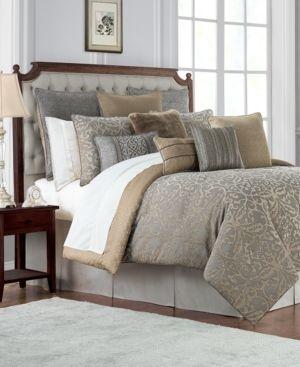 California King Waterford Carrick Reversible 4PC Comforter Set Retail 329 99