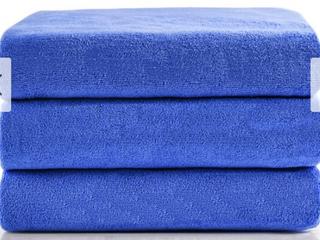Fast Dry 3  Pack Bath Towels 27  A 55    Blue