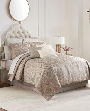 Waterford Andria Reversible 4 Piece Comforter Set  California King Bedding