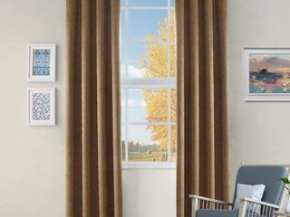 Impressions Senna Blackout Curtain Set of 2 with Grommet Header