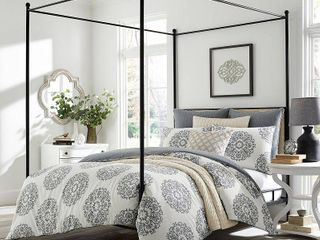 King Gray Bristol Comforter Set   Stone Cottage