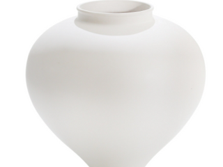 Sagebrook Home large Round Eggshell Vase