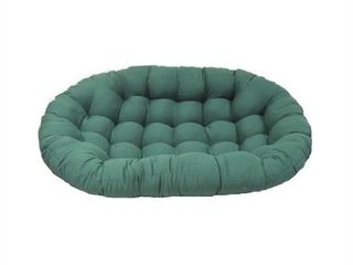Blazing Needles 65 inch Solid Double Papasan Cushion  Retail 116 49