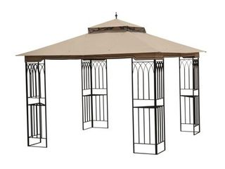 Sunjoy Replacement Canopy set for l GZ105PST 4F 10X10 lansing Gazebo  Retail 129 99