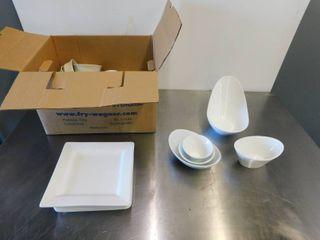 Assorted Plateware