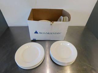 Assorted White Dinner Plates