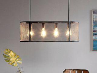 Hopkins Black Pendant light by INK IVY Retail 173 99