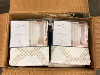 Box of Six Shower Curtains
