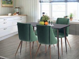 Carson Carrington Falkskog Fabric Side Chair  Set of 2  Retail 167 49