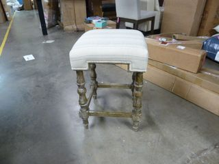 Fancy Striped Counter Stool