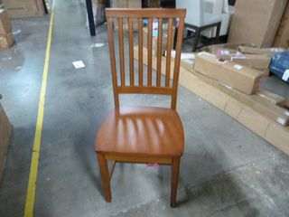 Single Wooden Kitchen Dining Chair