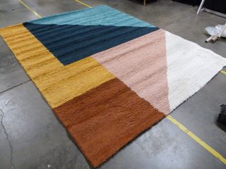 8  x 10 2  Colorful Area Rug