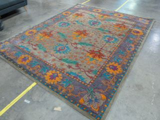 7 9  x 9 9  Colorful Area Rug