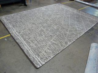 8 6  x 11  6  Grey Area Rug