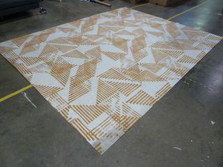 9  x 12  Yellow Pattern Area Rug