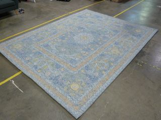 8  x 10  Blue and Yellow Area Rug