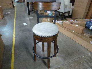 Single Swivel Chair Bar Stool
