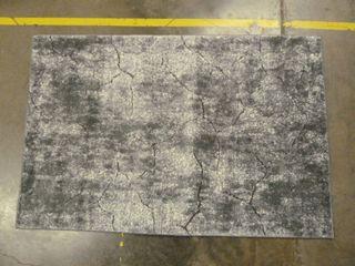 3 6  x 5 5  Grey Area Rug