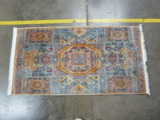 2 7  x 5  Colorful Area Rug