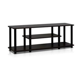 Porch   Den Stuyvesant Open Shelves 3 tier Entertainment TV Stand
