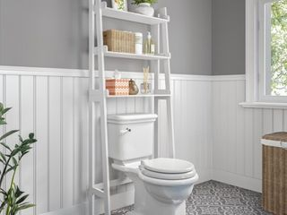 RiverRidge Amery Collection   ladder Spacesaver  White