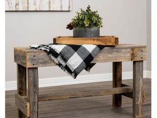 Del Hutson Designs Handmade Barnwood Bench Retail 83 99