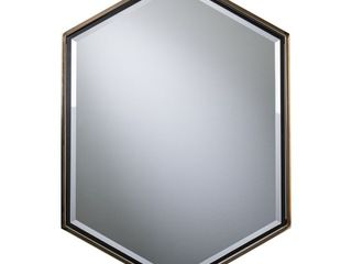 Holly and Martin Whexis Wall Mirror  Champagne Gold