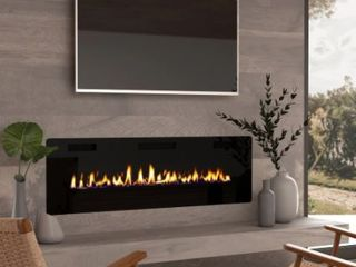 60 inch Ultra thin Electric Fireplace Insert for Wall mounted or In wall Installation  Retail 480 36