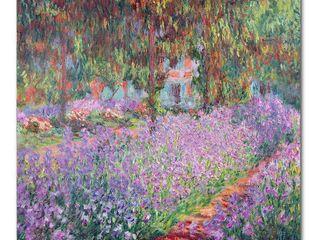 Claude Monet  The Artist s Garden at Giverny  Canvas Art