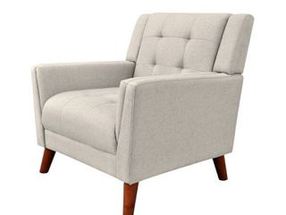 Candace Mid Century Modern Fabric Arm Chair by Christopher Knight Home   Retail 233 49