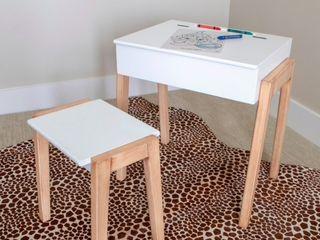 Daisy Stool and Desk Set