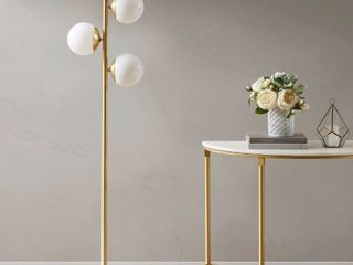 Holloway 62 inch Floor lamp with Round S