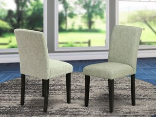Abbot and Parson Chair With Black legs  Set of 2