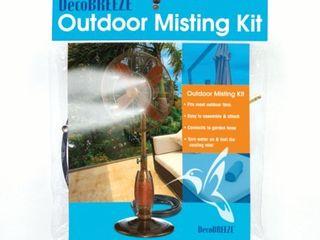 Deco Breeze Outdoor Fan Misting Kit