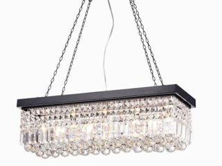Carina 5 light Crystal Chandelier  Retail 186 49