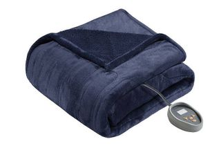 Beautyrest Solid Microlight to Berber Heated Blanket  Retail 139 97