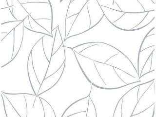 Set of 3  NextWall Tossed leaves Peel and Stick Removable Wallpaper