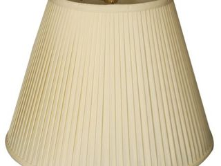 Royal Designs Deep Empire Side Pleat Basic lamp Shade  Set of 3  Eggshell  Retail 85 49