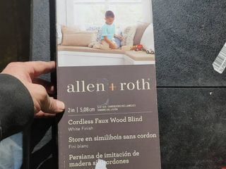 Allen and Roth cordless blind see pictures for size