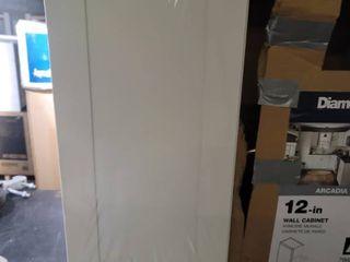 Diamond Now 12 inch wall cabinet Arcadia White