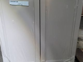 Wall Cabinet 30x13x30 has some damage see pictures