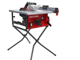 Craftsman 10 in Carbide tipped Blade 15 amp Table Saw Cmxetax69434502