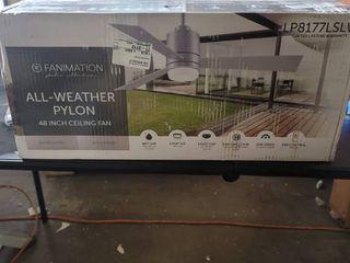 Fanimation All  Weather Pylon Ceiling Fan 48