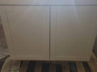 White cabinet 36 x 24 x 35