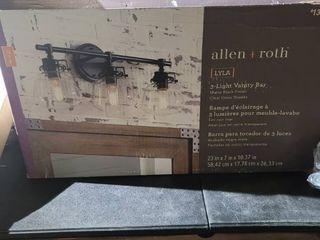 Allen and Roth 3 light vanity bar