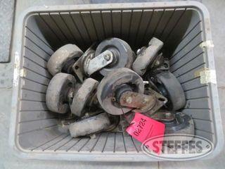 Box of caster wheels 1 jpg