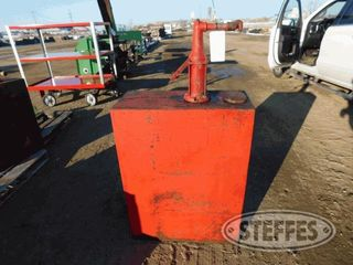 Oil storage tank hand crank pump 1 jpg